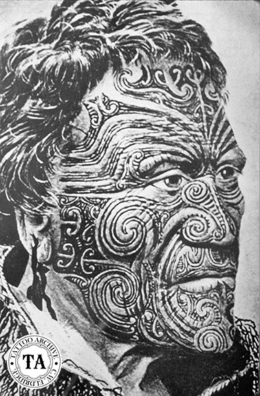 The Maori Of New Zealand: Moko Masters