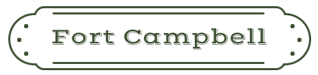 Fort Campbell Name Plate