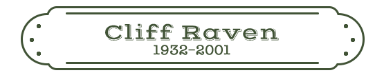 Cliff Raven Name Plate
