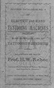 Rebec's Tattooing Supplies Catalog