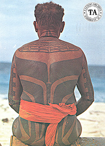 Example of Yap tattooing
