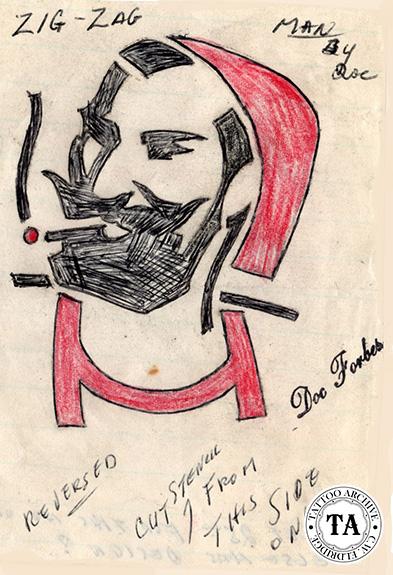 Zig Zag Man Pipe 56